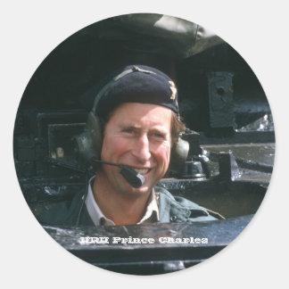 HRH Prince Charles Classic Round Sticker