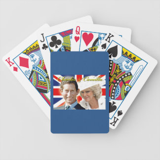 HRH Prince Charles & HRH Duchess of Cornwall Bicycle Playing Cards