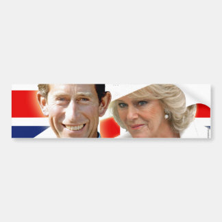 HRH Prince Charles & HRH Duchess of Cornwall Bumper Sticker