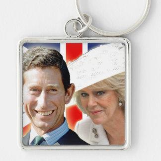 HRH Prince Charles & HRH Duchess of Cornwall Keychain