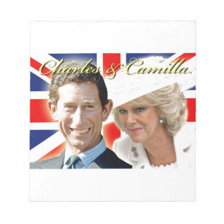 HRH Prince Charles & HRH Duchess of Cornwall Memo Notepads