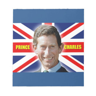 HRH Prince Charles - Patiotic! Memo Note Pads