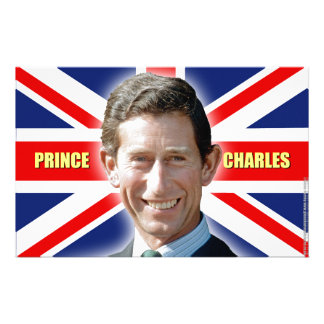 HRH Prince Charles - Patriotic! Customised Stationery