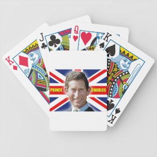 HRH Prince Charles Stunning! Bicycle Playing Cards