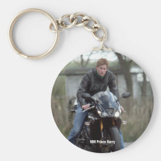 HRH Prince Harry motorbike Keychain