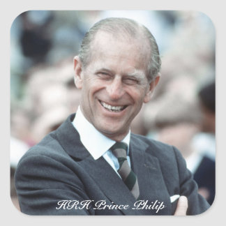 HRH Prince Philip 1983 Sticker