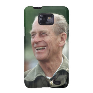 HRH Prince Philip laughing Galaxy S2 Case