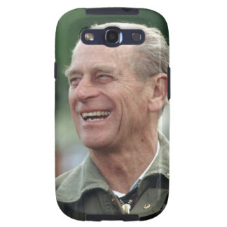 HRH Prince Philip laughing Galaxy S3 Cover