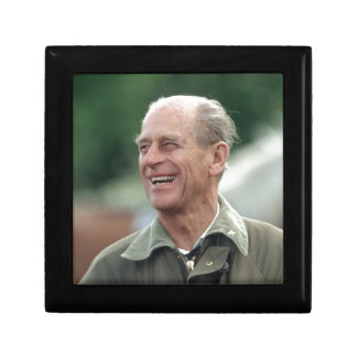 HRH Prince Philip laughing Gift Box