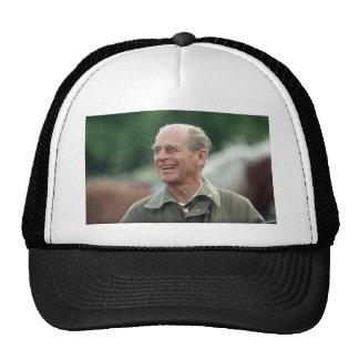 HRH Prince Philip laughing Mesh Hat