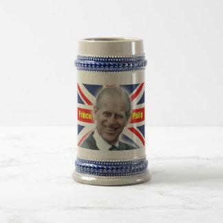 HRH Prince Philip - Super! Beer Stein