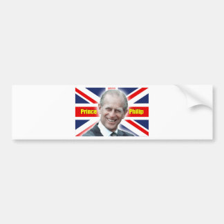HRH Prince Philip - Super Bumper Sticker