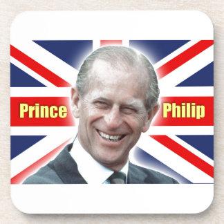 HRH Prince Philip - Super! Drink Coaster