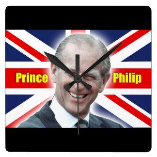 HRH Prince Philip - Super Wallclock