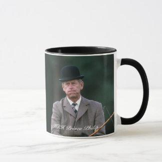 HRH Prince Philip Windsor 1980 Mug