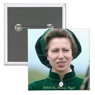 HRH Princess Anne Warminster Button
