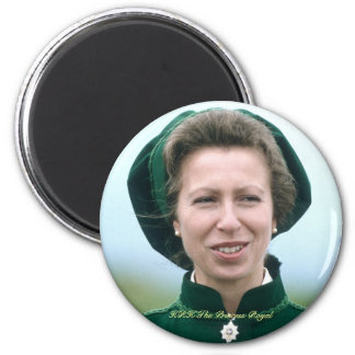 HRH Princess Anne Warminster Magnets