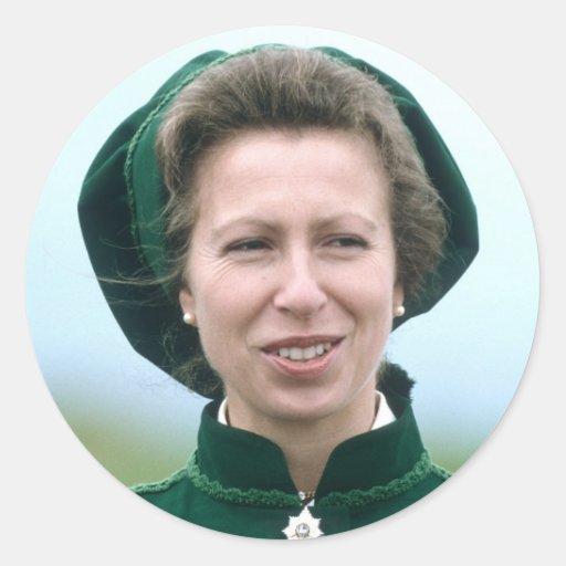 HRH Princess Anne Warminster Sticker