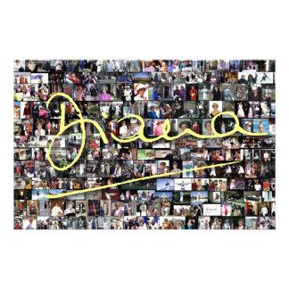 HRH Princess Diana - All the photos! Customized Stationery