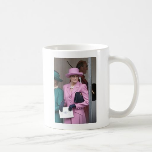 HRH Princess Diana Collection Classic White Coffee Mug