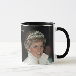 HRH Princess Diana Collection Mug