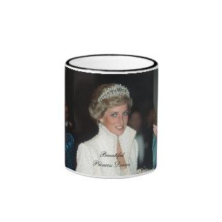 HRH Princess Diana Collection Ringer Coffee Mug