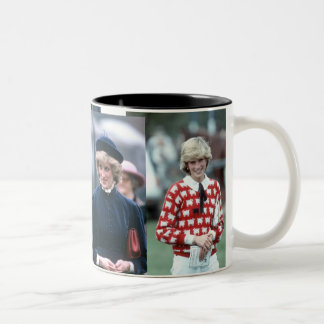 HRH Princess Diana Collection Two-Tone Coffee Mug
