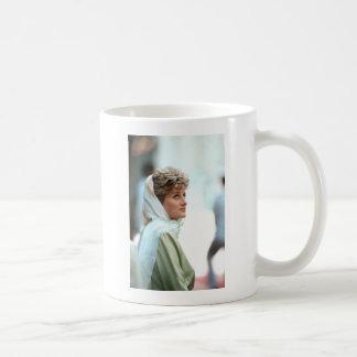 HRH Princess Diana Egypt 1992 Coffee Mug