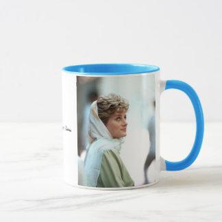 HRH Princess Diana Egypt 1992 Mug
