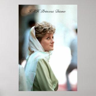 HRH Princess Diana Egypt 1992 Posters