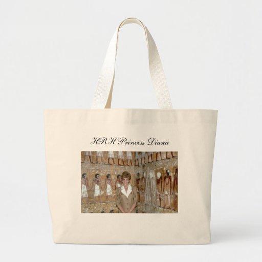 HRH Princess Diana Egypt 1992 Tote Bags