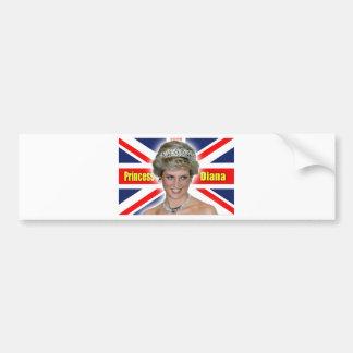HRH Princess Diana Stunning! Car Bumper Sticker
