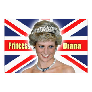 HRH Princess Diana Stunning! Customized Stationery