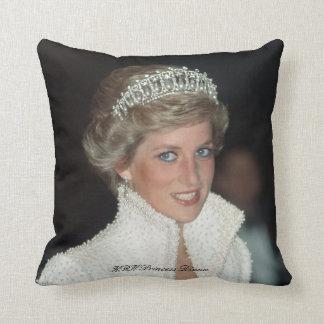 HRH Princess Diana Throw Pillows
