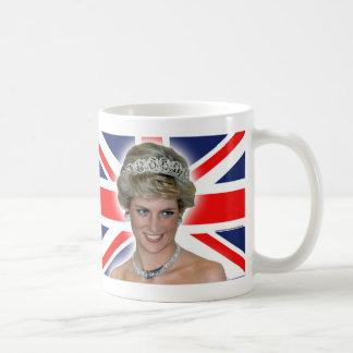 HRH Princess Diana Union Jack Coffee Mug