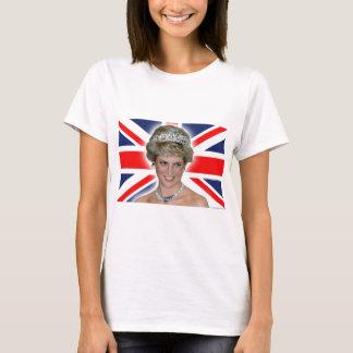 HRH Princess Diana Union Jack T-Shirt
