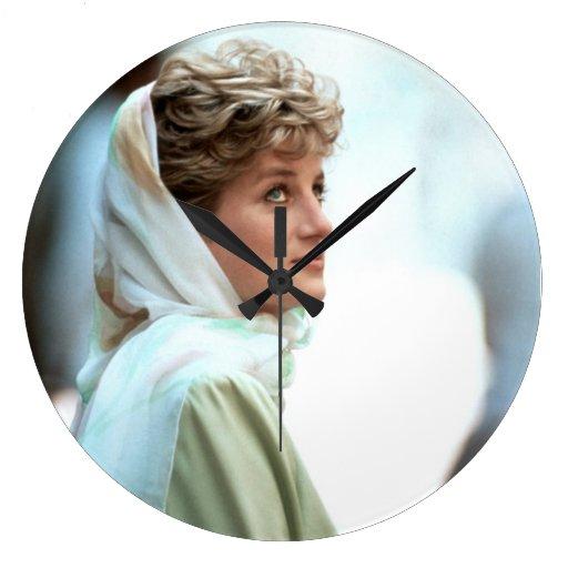 HRH Princess Diana Wallclock