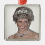 HRH Princess Diana Xmas Christmas Ornaments