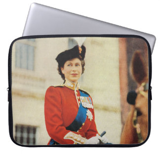 HRH Princess Elizabeth 1951, Trooping the Colour Computer Sleeve