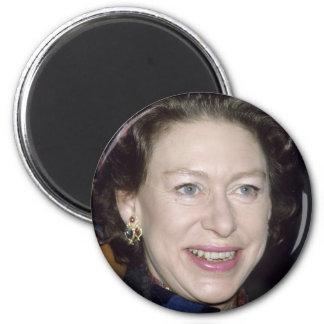 HRH Princess Margaret 2 Inch Round Magnet