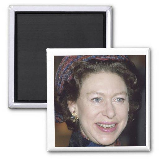 HRH Princess Margaret 2 Inch Square Magnet