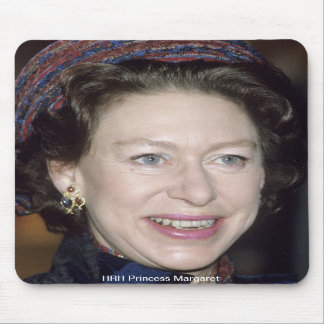 HRH Princess Margaret Mouse Pads