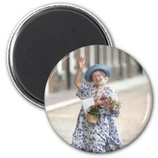 HRH Queen Elizabeth The Queen-Mother 1988 Fridge Magnet