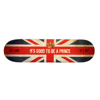HRH Royal Baby 072213 Skateboard Deck
