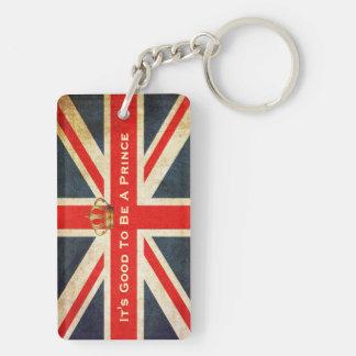 HRH Royal Baby Acrylic Commemorative Key Chain