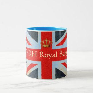 HRH Royal Baby Commemorative Mug (Blue)