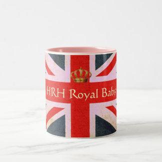 HRH Royal Baby Commemorative Mug (Pink)