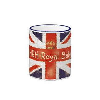 HRH Royal Baby Union Jack Coffee Mug