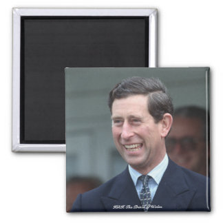 HRH The Prince of Wales 2 Inch Square Magnet