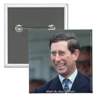 HRH The Prince of Wales Button